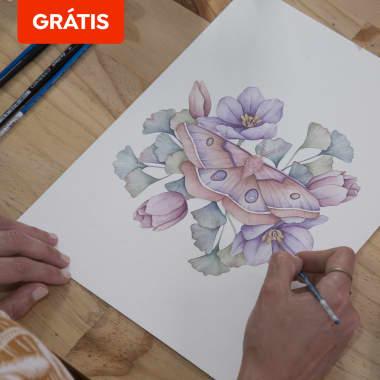 Download grátis: 8 templates básicos de desenho naturalista