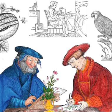 #ColorOurCollections: museus compartilham livros gratuitos para colorir