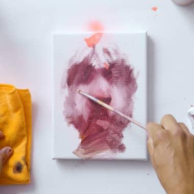 Tutorial Pintura: como criar um retrato rápido com tinta a óleo