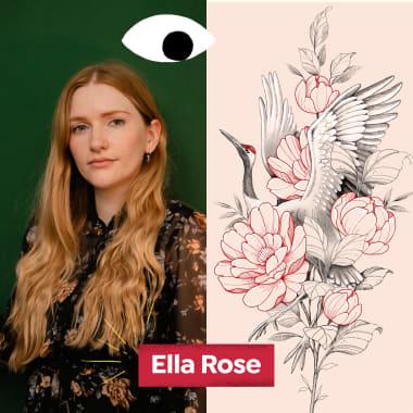 Conheça o estúdio da tatuadora Ella Rose, neste Diários Domestika