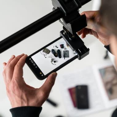 Materiales esenciales para la fotografía flat lay