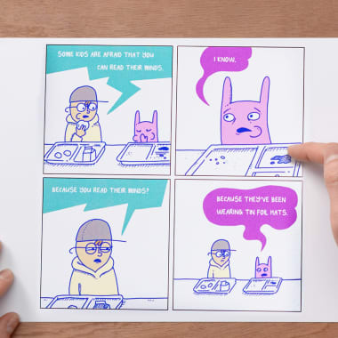 Comic Tutorial: How to Create a Comic Strip