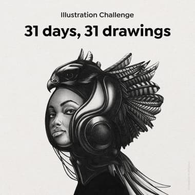 Illustration Challenge: 31 days, 31 drawings