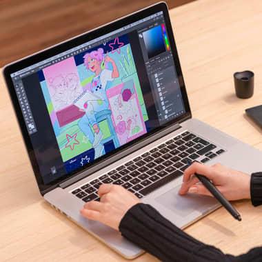 7 corsi online per imparare a illustrare con Photoshop