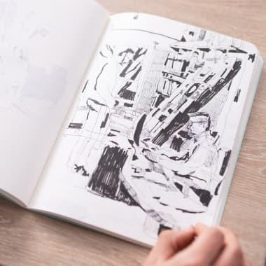 10 einfache Ideen mit denen du dem Skizzieren durchstartest