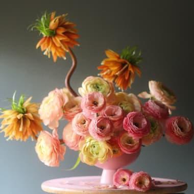 10 cursos online de design floral para criar em casa