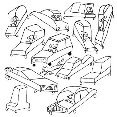 Einfache Übungen für perspektivisches Zeichnen