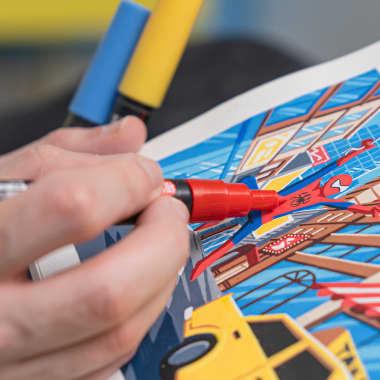 Tutorial di disegno: Uniposca per principianti