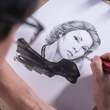 5 Online-Kurse um das Illustrieren mit Tusche zu erlernen