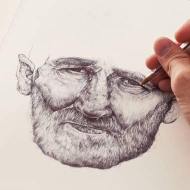 Tutorial Ilustración: ejercicios para coger fluidez con el bolígrafo