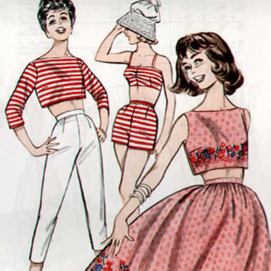 Vintage Design Ideas: 100,000 Free Fashion Illustrations