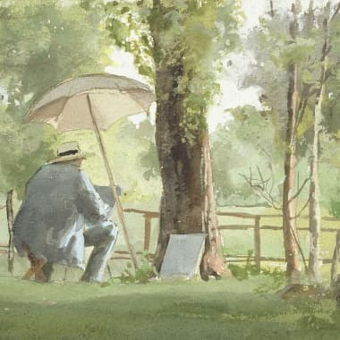 Gratuit : 100 Mille aquarelles d'avant 1900 chez Watercolour World.