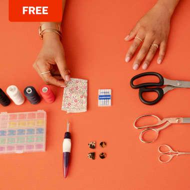 La couture pour débutant  : Un guide d'outils gratuit pour vous y mettre !