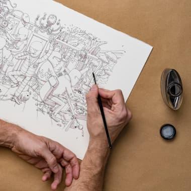 Tutoriel dessin : 3 Moyens de débloquer votre créativité.
