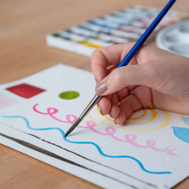 4 Easy Watercolor Exercises for Beginners