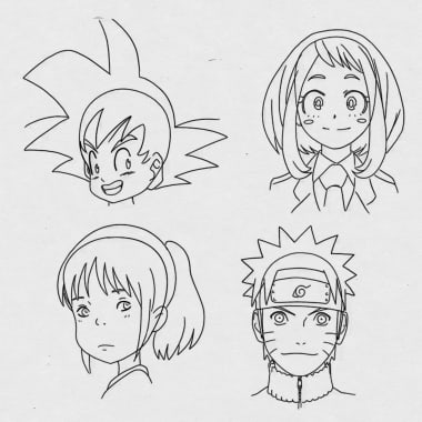 Anime Tutorial: Face Proportions for Beginners