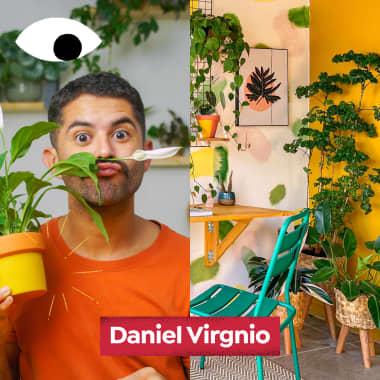 A impactante decoração com plantas de Daniel Virgnio, no Diários Domestika