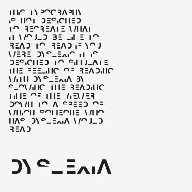 Open dyslexic, la tipografía que ayuda a personas con dislexia