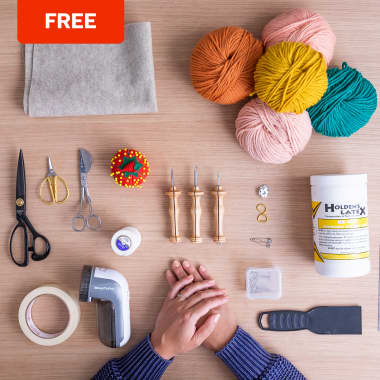 Free Guide: Essentials for Starting Punch Needle Embroidery