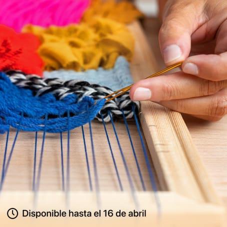 Introducción al tejido en telar de bastidor. Un curso de Craft de Diana Cunha