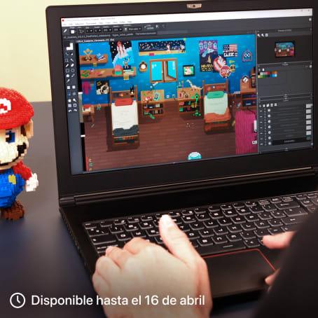 Introducción al diseño de personajes en pixel art. Un curso de Ilustración, 3D y Animación de Daniel Benítez