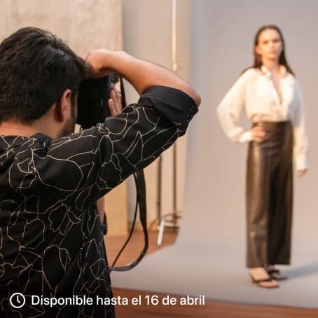 Retrato fotográfico: dirección y producción en estudio. Un curso de Fotografía y Vídeo de Esteban Calderón