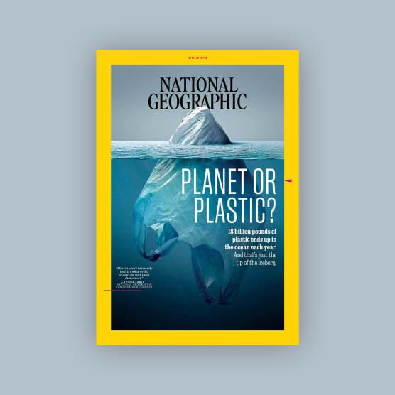 Plasticeberg: la portada de National Geographic de Jorge Gamboa