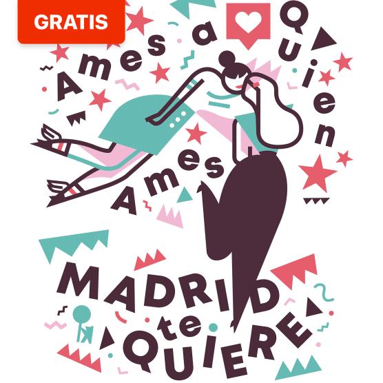 Descarga gratis los carteles del Orgullo del Ayuntamiento de Madrid