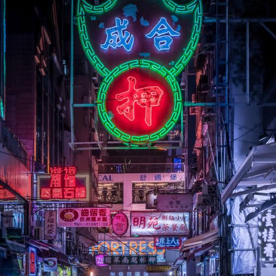 Noches de neón en Asia, fotografiadas por Marcus Wendt