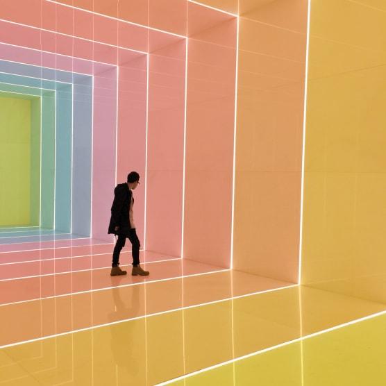 El arcoiris fotográfico de Emmanuel Carvajal