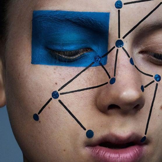 Sharif Hamza: fotografía y maquillaje experimental como forma de arte