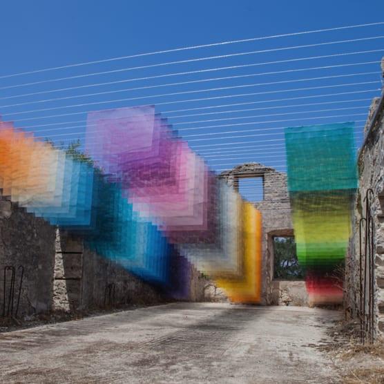 Percepción, píxeles y color en el arte de Quintessenz
