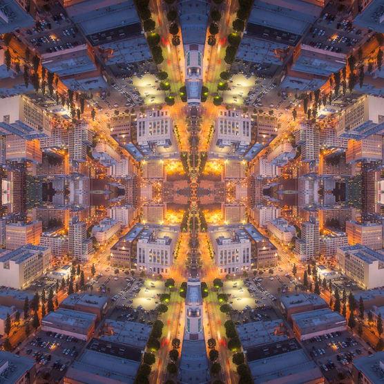 'Mirror City': Reflejos y luces en un gran timelapse