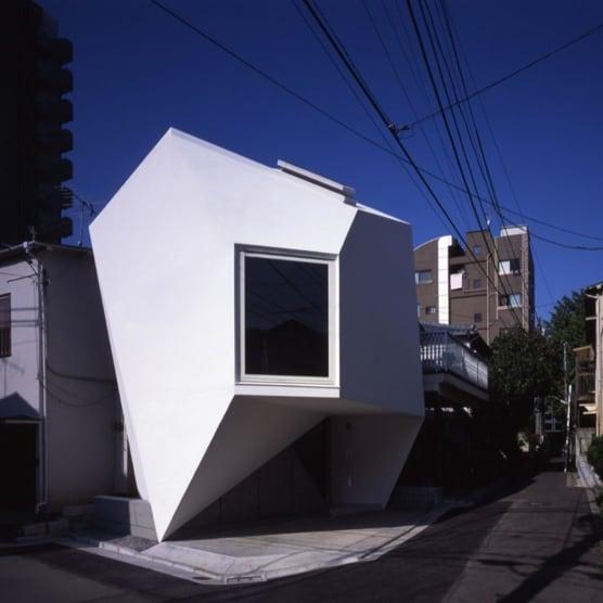Un oasis poligonal habitable en Tokio