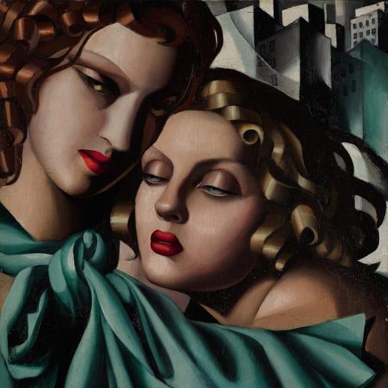 Tamara de Lempicka: el cuerpo Art Déco
