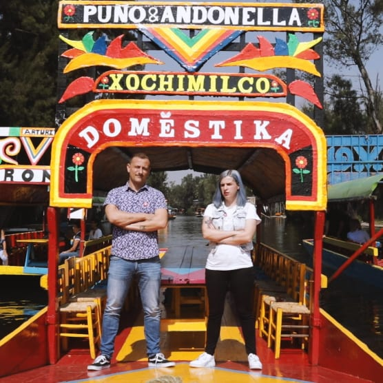 Puño vs. Andonella: challenge de dibujo en México