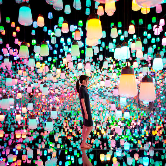Las fronteras entre arte y visitante se desdibujan en Borderless