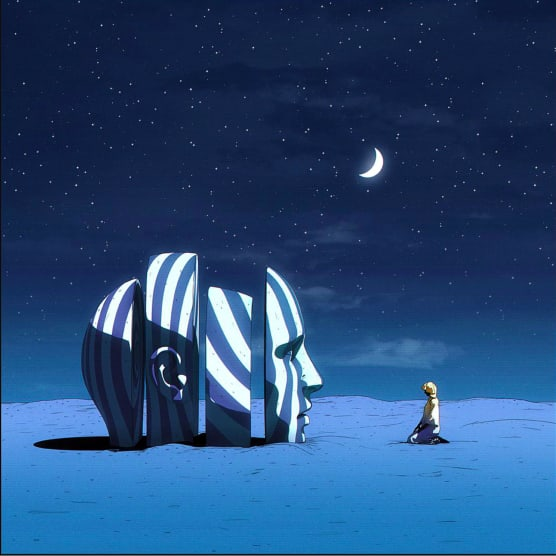 Dániel Taylor crea su propio universo futurista
