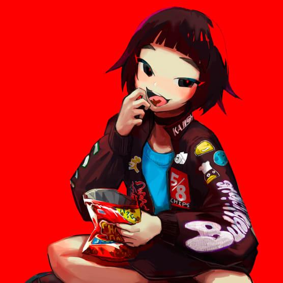 Comida, colores y Live2D con Yumi Fukuda