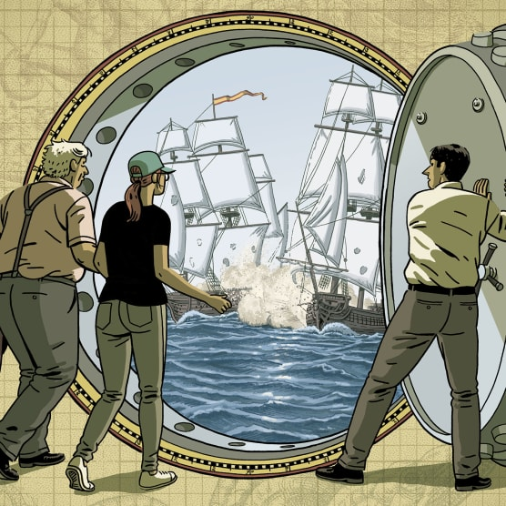 Vuelve Paco Roca con una historia de piratas