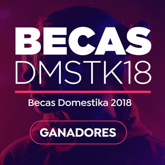 ¡Estos son los ganadores de las Becas Domestika 2018!