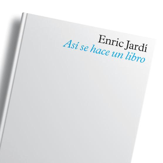 Enric Jardí da las claves sobre cómo se hace un libro