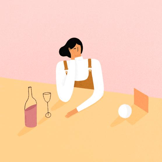 La Borrega Viuda: ilustrando la feminidad mexicana en tonos pastel