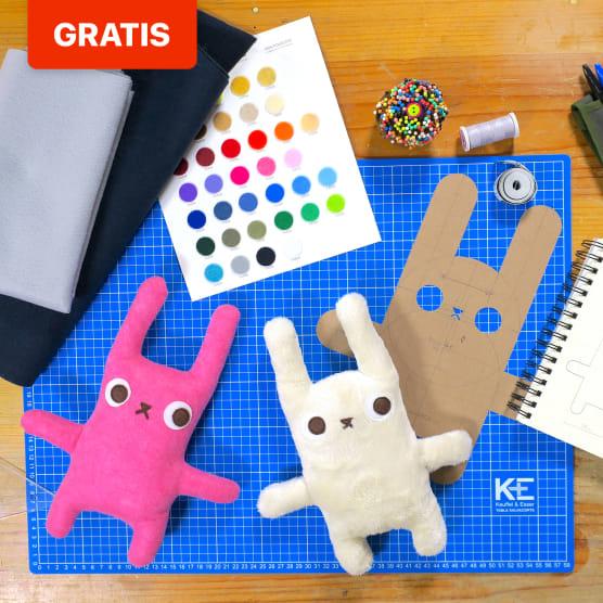 Patrón de costura para crear tu textile toy