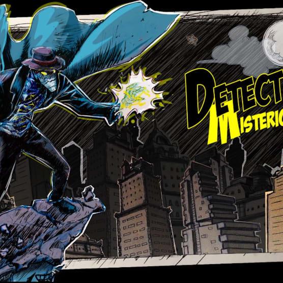 Detective Misterio, el cómic autoeditado que nació de un curso de Domestika