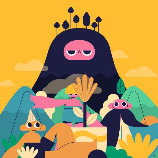 Conoce paso a paso el proceso de diseño del ilustrador Serge Rodas