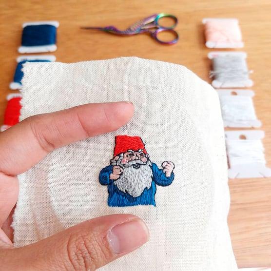 10 artistas del bordado imprescindibles según la comunidad de Domestika