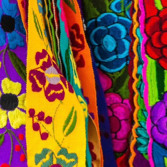Tipos de bordado mexicano (II): bordado oaxaqueño