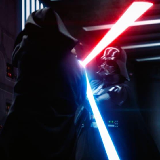 Así se rehizo el duelo entre Obi-Wan y Darth Vader