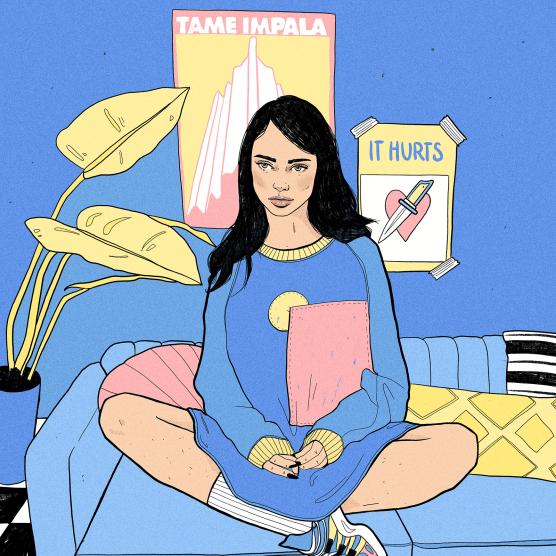 Conoce el proceso creativo de la ilustradora Be Fernández